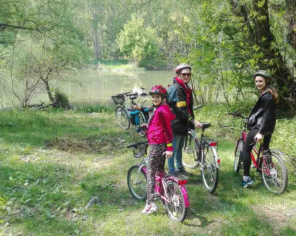 Cykloturistika okolie Veľký Meder
